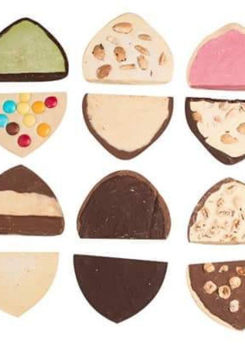box TORRONE morbido al CIOCCOLATO scegli il tuo gusto preferito