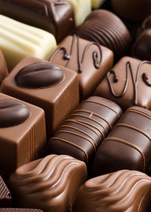 BORSA di cioccolatini con il tuo bigliettino personale di auguri