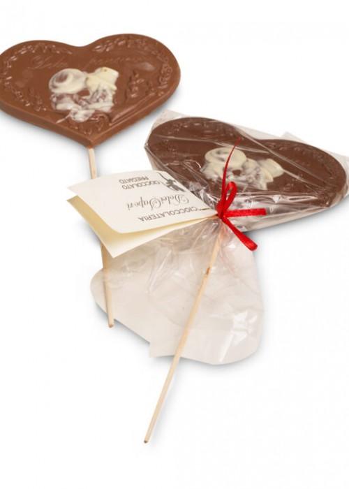 LECCA CUORE INNAMORATI di cioccolato gr 60