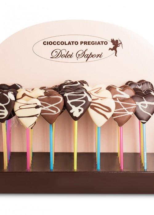 LECCA CIOCK CUORE di cioccolato gr 25