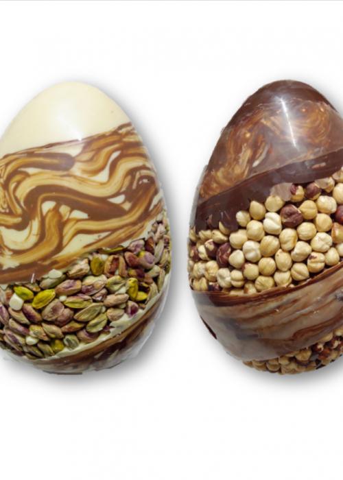 uovo luxury nocciolato o pistacchio bronte da 1 kg
