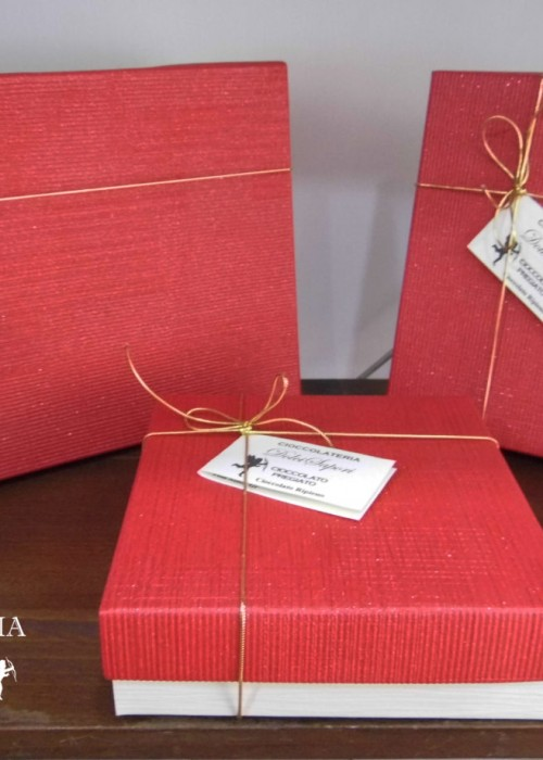 scatola nudi artigianale personalizzata